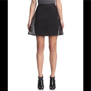 *In stores now* Brand new black mesh a-line skirt